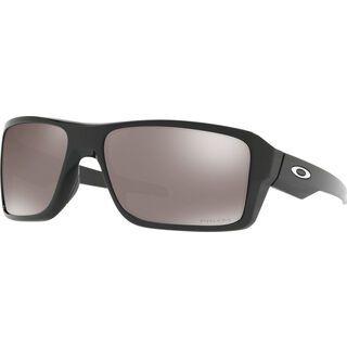 Oakley Double Edge, polished black/Lens: prizm black polarized - Sonnenbrille