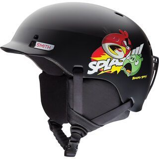 Smith Gage Junior, mattete angry birds - Snowboardhelm