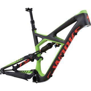 Specialized S-Works Enduro FSR 650b Frame 2016, carbon/green/red
