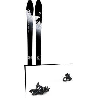 Set: Icelantic Sabre 89 2018 + Marker Alpinist 12 black/titanium