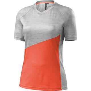 Specialized Women's Andorra Comp Jersey, neon coral - Radtrikot