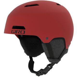 Giro Ledge, matte dark red - Skihelm