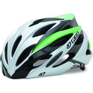 Giro Savant, bright green/silver - Fahrradhelm