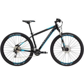 Cannondale Trail 3 27.5 2017, black/blue - Mountainbike