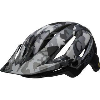 *** 2. Wahl *** Bell Sixer MIPS, gloss black camo - Fahrradhelm   Größe M // 55-59 cm