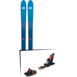 Set: DPS Skis Wailer F106 Foundation 2018 + Marker Kingpin 13 black/copper