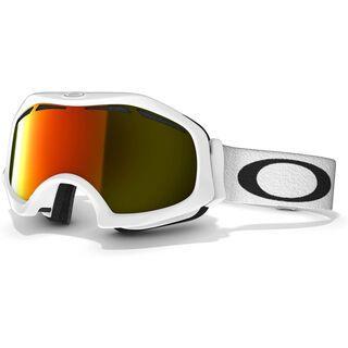 Oakley Catapult, Matte White/Fire Iridium - Skibrille