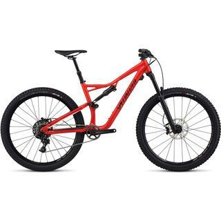 Specialized Stumpjumper FSR Comp 650B 2017, red/black - Mountainbike