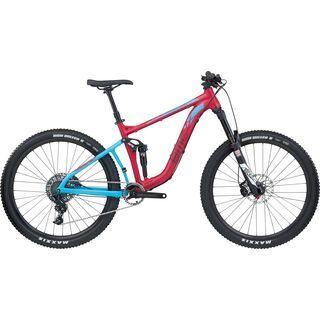 BMC Speedfox 03 Trailcrew NX 2017, red blue - Mountainbike