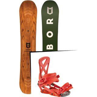 Set: Arbor Formula Premium 2017 + Nitro Phantom 2017, diablo - Snowboardset
