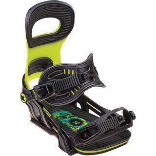 Bent Metal Transfer, green - Snowboardbindung