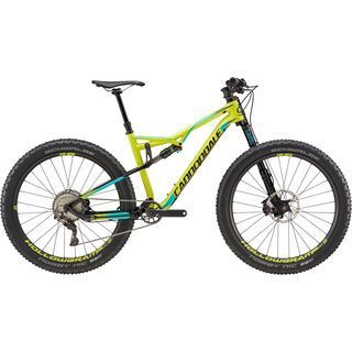 Cannondale Bad Habit Carbon 1 2017, neon spring/turquoise/black - Mountainbike