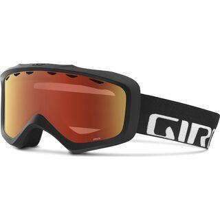 Giro Grade, black/Lens: amber scarlet - Skibrille