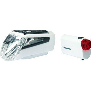 Trelock LS 560 I-Go Control / LS 720 - Beleuchtungsset, white