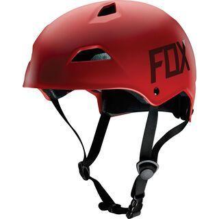 Fox Flight Hardshell Helmet, matte red - Fahrradhelm