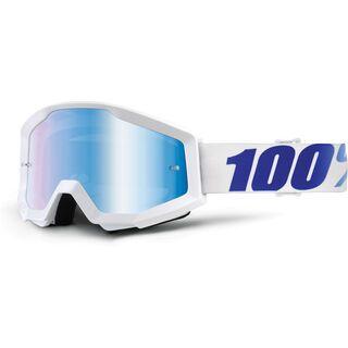 100% Strata, equinox/Lens: mirror blue - MX Brille