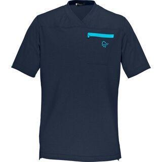 Norrona Fjørå Equaliser Lightweight T-Shirt, cool black - Radtrikot