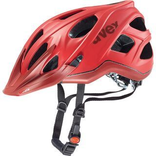 uvex Stivo CC, red-dark red mat - Fahrradhelm