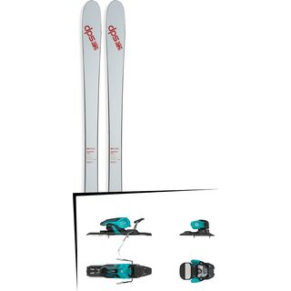 Set: DPS Skis Cassiar 85 2017 + Salomon Warden 11 (1706225)