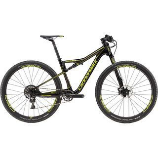 Cannondale Scalpel-Si Carbon 2 29 2017, black/green - Mountainbike