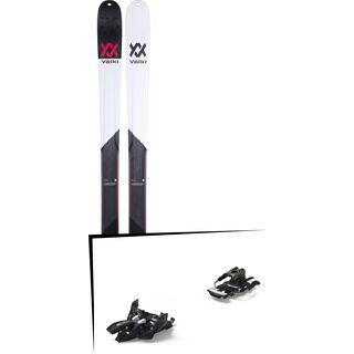 Set: Völkl BMT 90 2019 + Marker Alpinist 12 Long Travel black/titanium