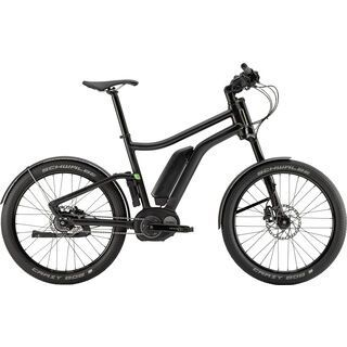 Cannondale Contro-E Rigid 2016, black - E-Bike