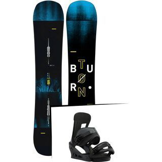 Set: Burton Instigator Wide 2019 + Burton Freestyle black matte