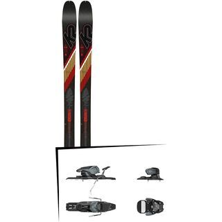 Set: K2 SKI Wayback 80 2019 + Salomon Warden 11 dark grey/black