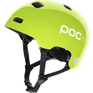 POC POCito Crane, fluorescent yellow/green - Fahrradhelm