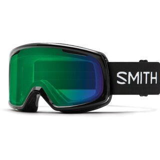 Smith Riot inkl. WS, black/Lens: cp everyday green mirror - Skibrille