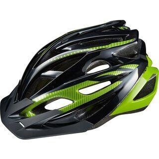 Cannondale Radius, black/green - Fahrradhelm