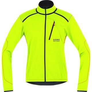 Gore Bike Wear Fusion Tool Windstopper SO Jacke, neon yellow/black - Radjacke