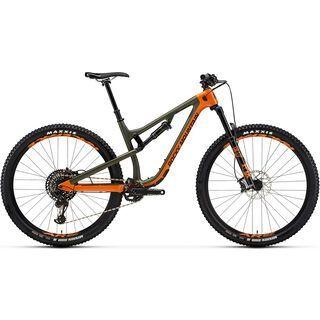 Rocky Mountain Instinct Carbon 70 2019, orange/green/black - Mountainbike
