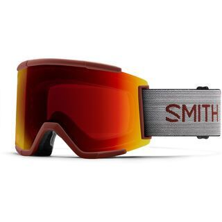 Smith Squad XL inkl. WS, oxide/Lens: cp sun red mir - Skibrille