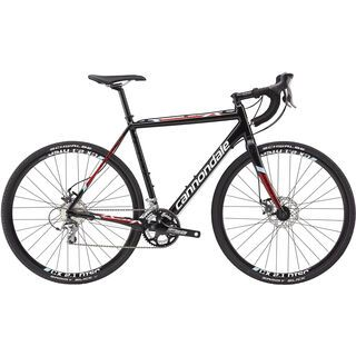 Cannondale CAADX Tiagra Disc 2015, black/red/white - Crossrad