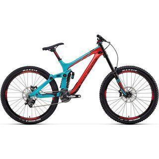 Rocky Mountain Maiden Carbon 30 2018, red/ocean/black - Mountainbike