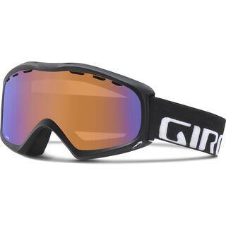 Giro Signal, black wordmark/persimmon boost - Skibrille
