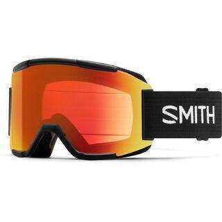Smith Squad inkl. Wechselscheibe, black/Lens: everyday red mirror chromapop - Skibrille