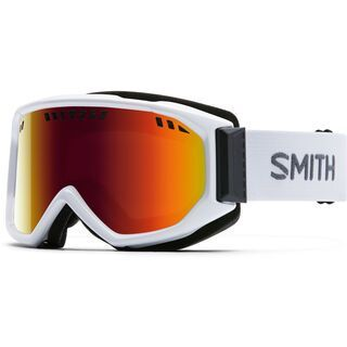 Smith Scope Pro, white/Lens: red sol-x mirror - Skibrille