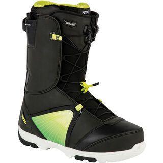 Nitro Ultra TLS 2016, black yellow fade - Snowboardschuhe