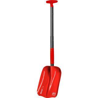Ortovox Shovel Beast, rot - Schneeschaufel