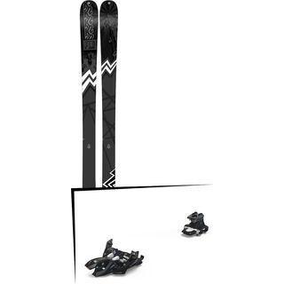 Set: K2 SKI Press 2019 + Marker Alpinist 9 black/titanium