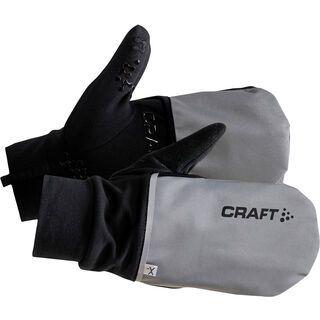 Craft Hybrid Weather Glove, silver/black - Fahrradhandschuhe