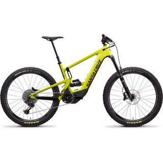 *** 2. Wahl *** Santa Cruz Heckler CC S 2020, yellow/black - E-Bike | Größe L // 43 cm