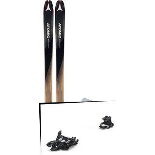 Set: Atomic Backland 85 + Hybrid Skin 85 2019 + Marker Alpinist 9 black/titanium