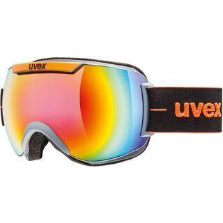 uvex downhill 2000 FM, coal orange mat/Lens: mirror rainbow - Skibrille