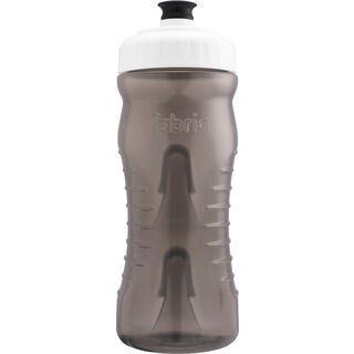 Fabric Cageless Waterbottle 600 ml, smoke/white - Trinkflasche