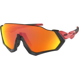 Oakley Flight Jacket Polarized, redline/Lens: prizm ruby - Sportbrille