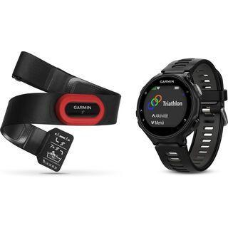 Garmin Forerunner 735XT Run-Bundle, schwarz/grau - Triathlonuhr