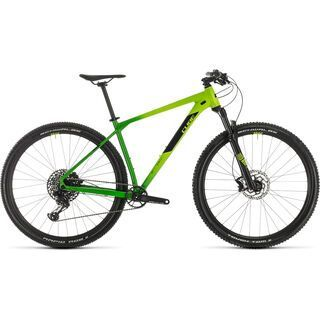 Cube Reaction Race 29 2020, green´n´black - Mountainbike